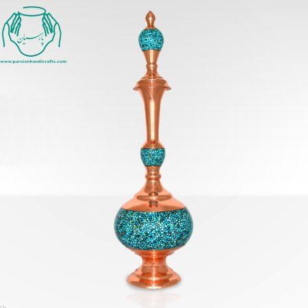 تنگ ۵۳ سانتی پاپیونی فیروزه کعب دار اصفهان