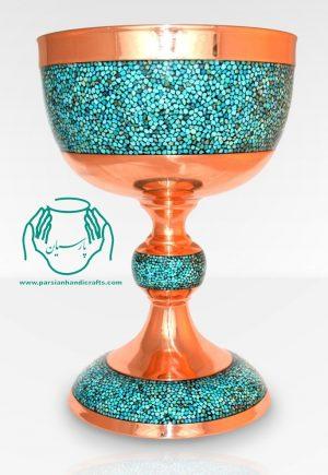 قیمت خرید فروش سنگاب فیروزه کوبی ۳۳ سانتی