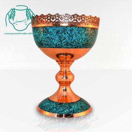 آجیل خوری فیروزه کوبی ۳۰ سانتی اصفهان