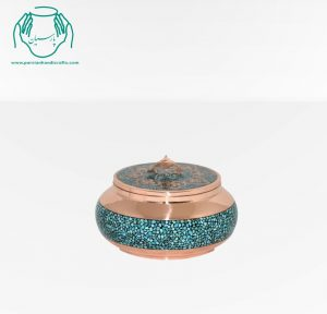 قیمت فروش جعبه جواهرات فیروزه کوبی سایز ۱