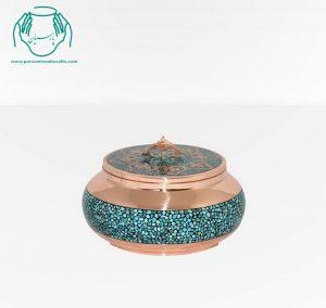 قیمت فروش جعبه جواهرات فیروزه کوبی سایز ۲