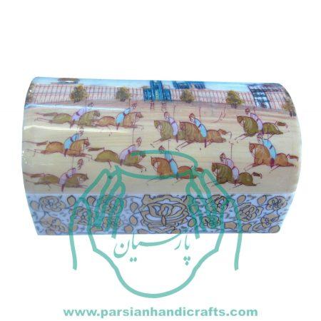 قیمت فروش جعبه استخوانی جواهرات نقاشی مینیاتور