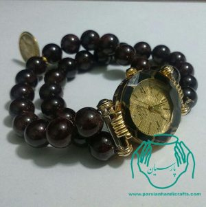 قیمت فروش بازار ساعت دست ساز سنگ گارنت