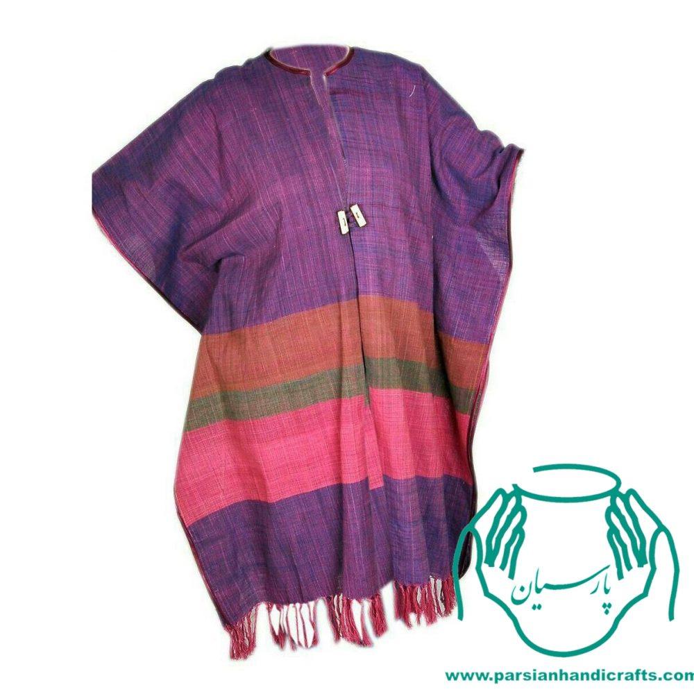 مانتو سنتی اصفهان پانچو دستبافت کاملا پنبه ای