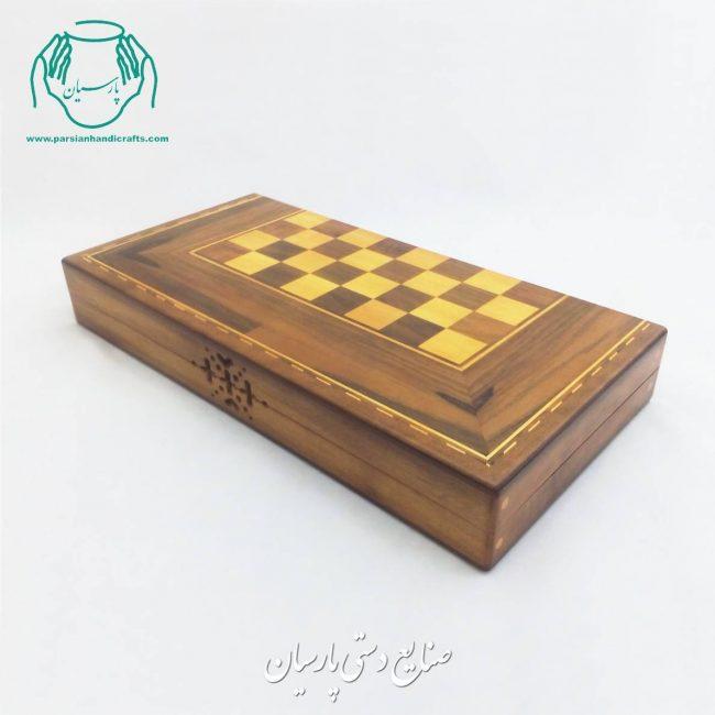 قیمت تخته نرد و شطرنج چوب گردو