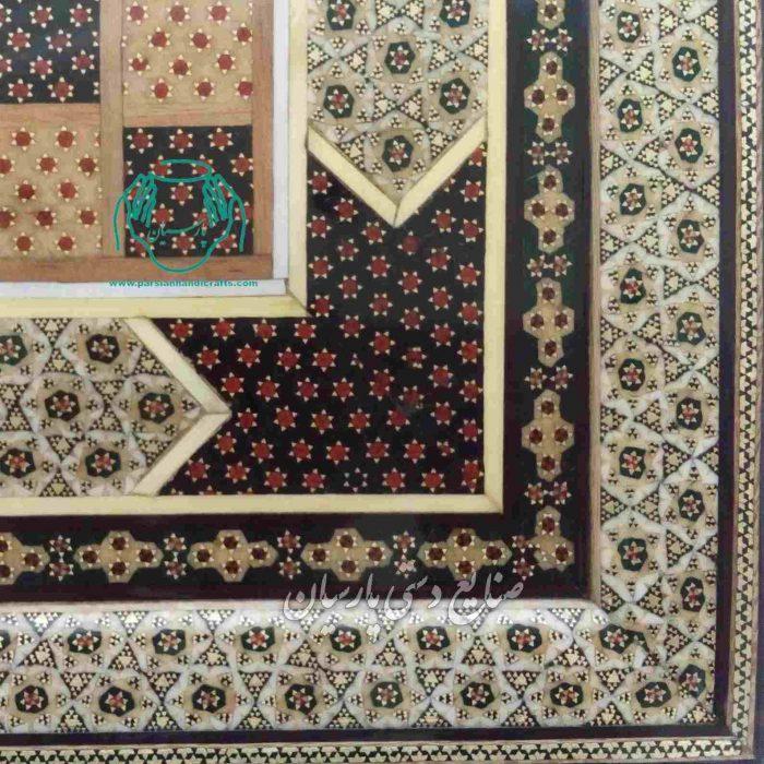 تخته نرد خاتم کاری شده اصفهان