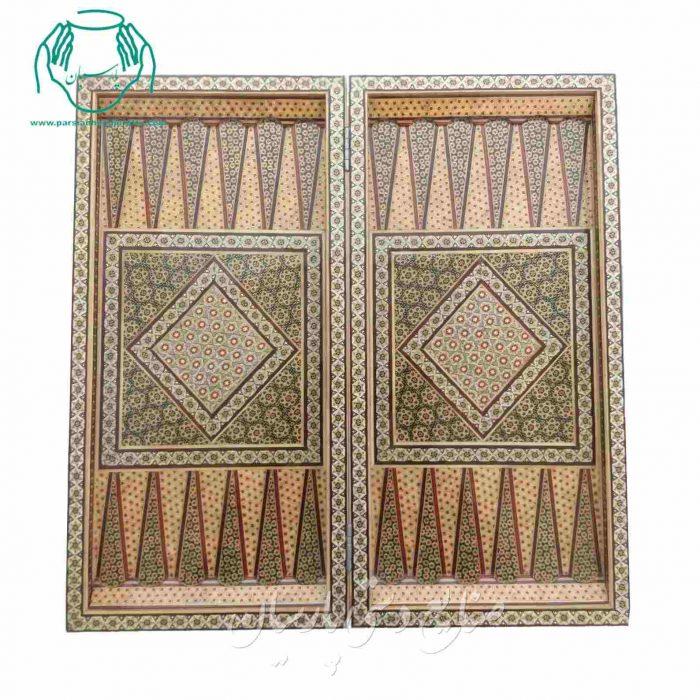 قیمت تجاری تخته نرد 50 سانتی خاتم |تخته شطرنج 50 سانتی خاتم کاری اصفهان