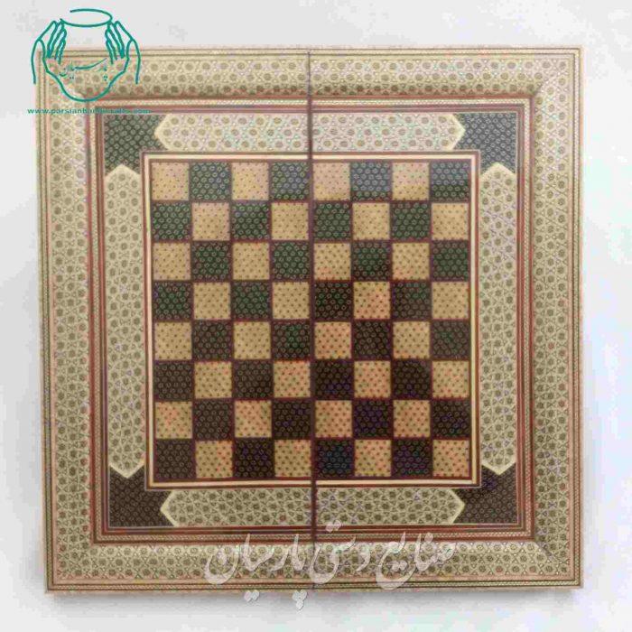 فروش تخته نرد 50 سانتی خاتم |تخته شطرنج 50 سانتی خاتم کاری اصفهان