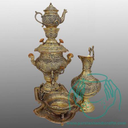فروش سماور برنجی قلمزنی اصفهان