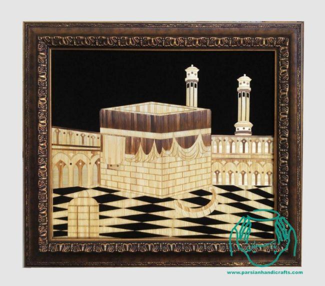 تابلو کعبه معرق هدیه ویژه حجاج اصفهان