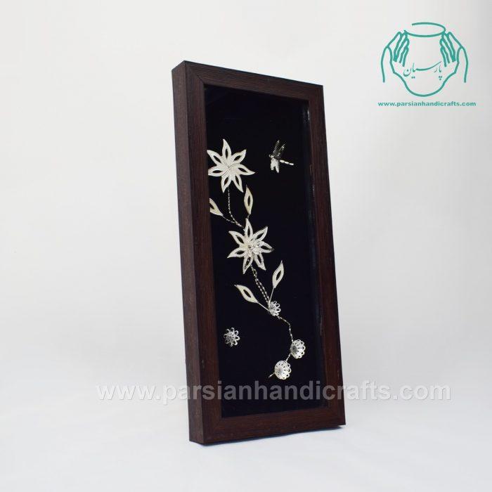 تابلو قاب گل نقره عیار 84 درصد