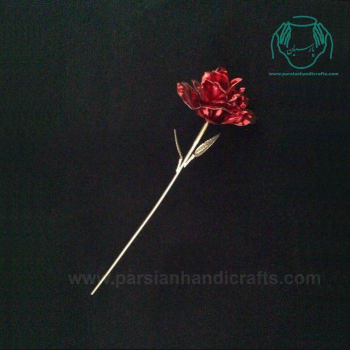 شاخه گل نقره ی قرمز