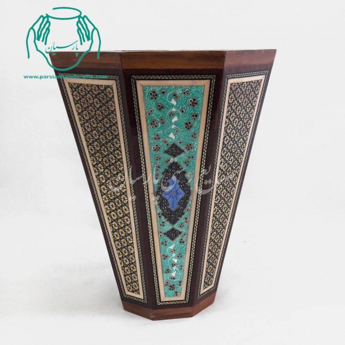 قیمت فروش سطل خاتم نقاشی مینیاتور اصفهان