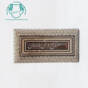 جعبه دستمال کاغذی کلینکس خاتمکاری |جعبه خاتم |جا کلینکسی خاتم کاری اصفهان