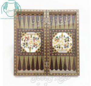 فروش تخته نرد خاتم و نقاشی |قیمت تخته نرد و شطرنج خاتم و مینیاتور اصفهان