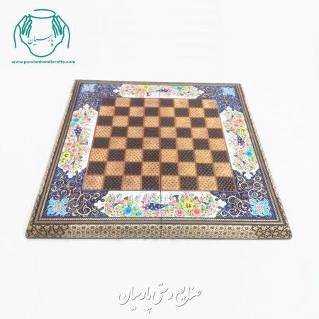 قیمت فروش تخته نرد شطرنج خاتم کاری نقاشی