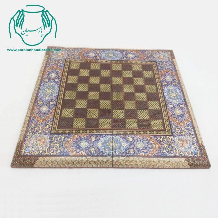 فروش اینترنتی تخته نرد شطرنج خاتمکاری و تذهیب اصفهان