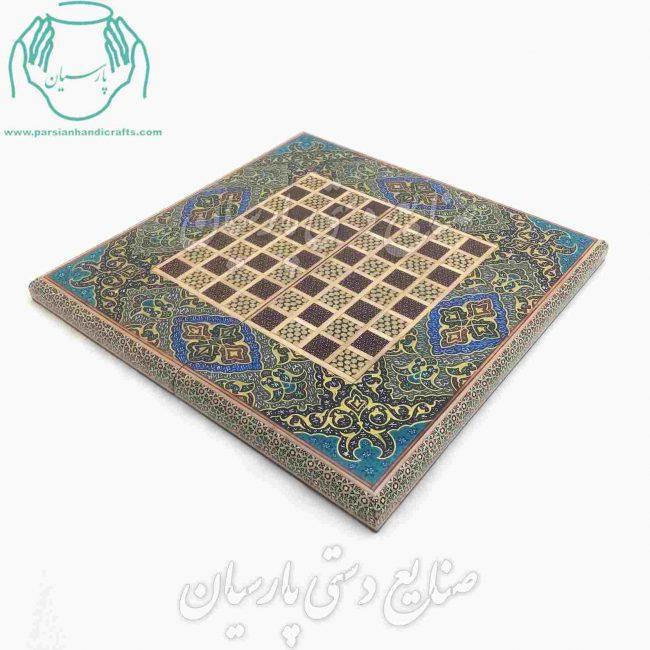 فروش آنلاین تخته نرد خاتم کاری |فروش اینترنتی تخته نرد خاتمکاری اصفهان ارسال رایگان