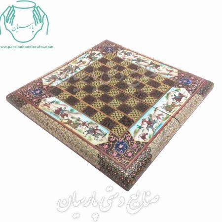 قیت فروش فروش تخته نرد خاتم کاری قیمت تخته شطرنج خاتمکاری