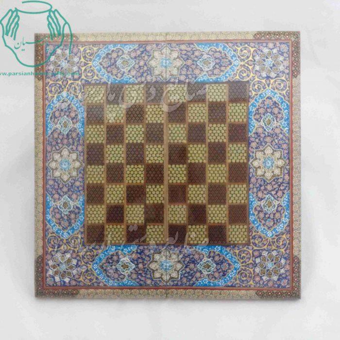 خرید و فروش فروشگاه اینترنتی تخته نرد خاتم کاری اصفهان  قیمت تخته نرد و شطرنج خاتمکاری