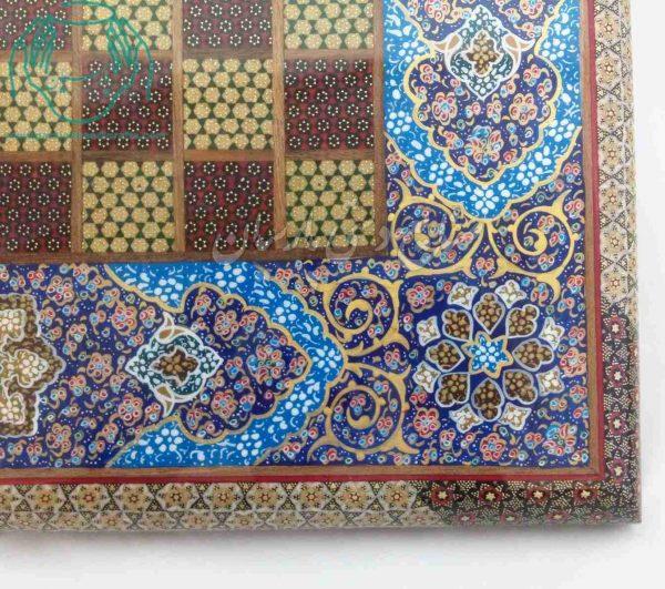 فروش آنلاین فروشگاه اینترنتی تخته نرد خاتم کاری اصفهان  قیمت تخته نرد و شطرنج خاتمکاری