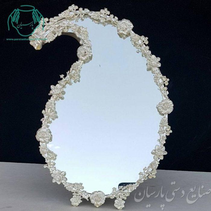 قیمت فروش انواع آیینه ملیله کاری نقره ریخته گری اصفهان