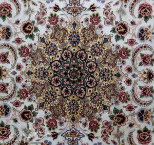 جفت قالیچه ابریشم اصفهان