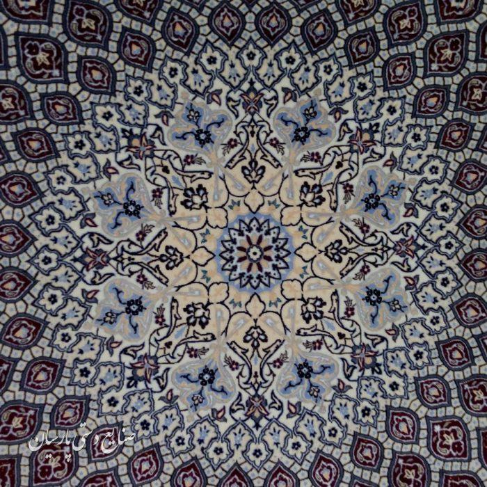 قیمت فرش دستباف پرده ای نایین طرح گنبد