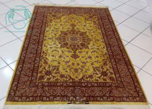 قالیچه ابریشم اصفهان