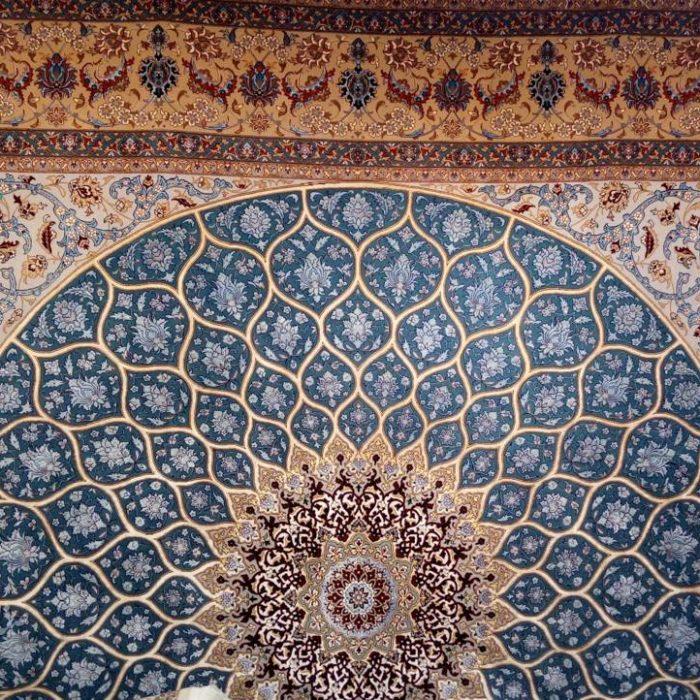 قیمت فروش فرش دستبافت مربع 9 متری اصفهان