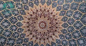 فرش دستباف مربع ۹ متری اصفهان