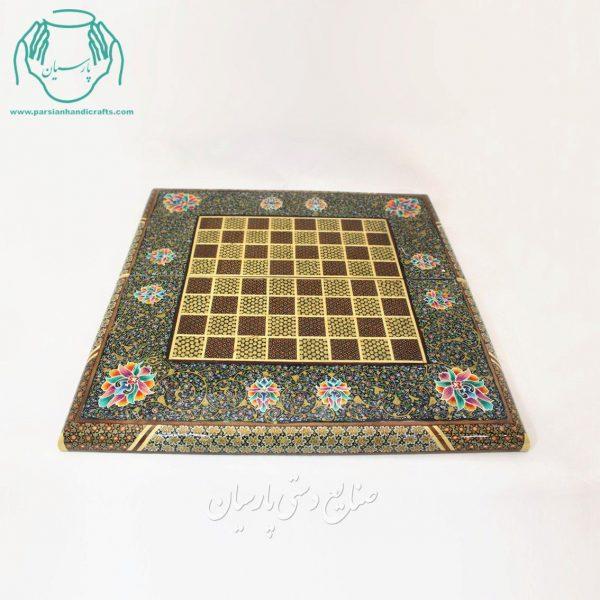 قیمت تخته نرد و شطرنج خاتم کاری نقاشی اسلیمی
