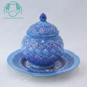 قیمت فروش قندان میناکاری اصفهان