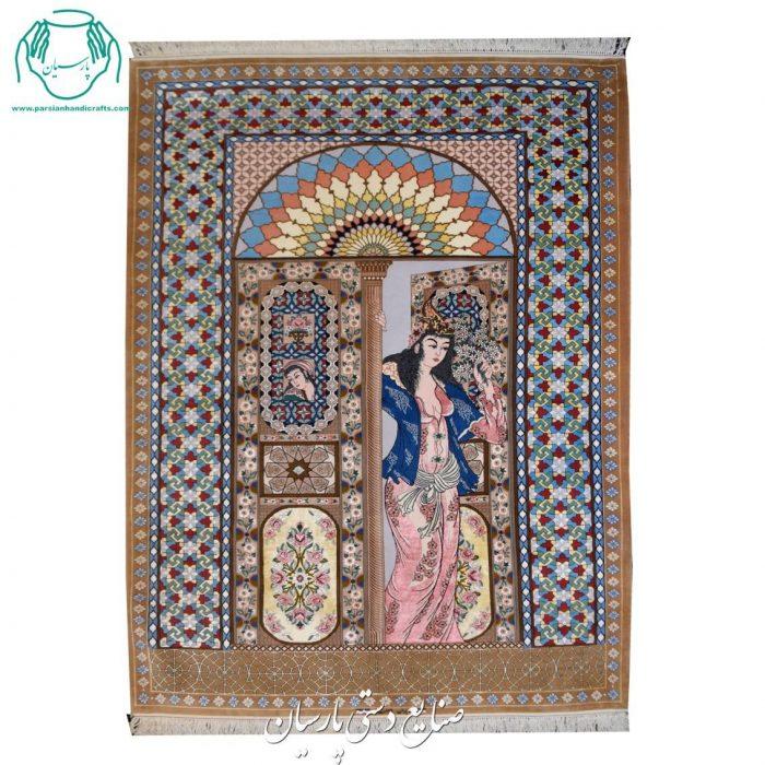 قیمت قالیچه دستبافت اصفهان تک چهره