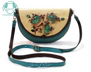 قیمت کیف رو دوشی چرمی زنانه رنگ قرمز