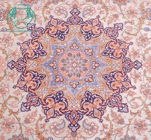 ترنج فرش دستباف اصفهان نقشه لچک ترنج