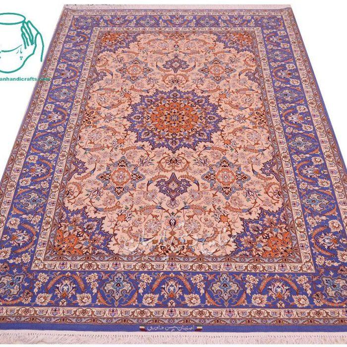 قیمت قالیچه دستبافت اصفهان نقشه ترنج