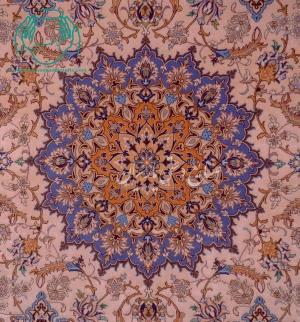 ترنج قالیچه دستبافت اصفهان نقشه ترنج