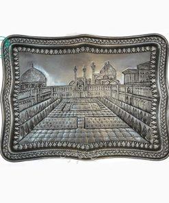 سینی مستطیل طرح میدان نقش جهان اصفهان