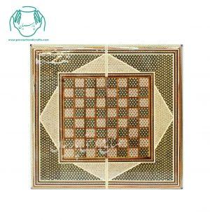روی تخته نرد تمام خاتمکاری اصفهان