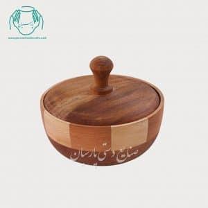 شکلات خوری چوبی دست ساز چوب گردو