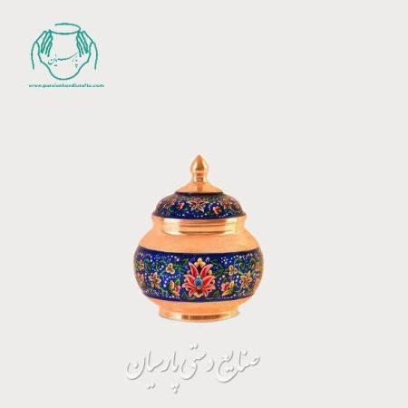 قیمت قندان کوچک مس پرداز اصفهان