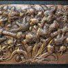قیمت تابلو قلمکاری طرح گل مرغ