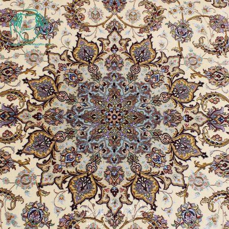 فرش دستبافت دو خفتی 6 متری لچک ترنج فرش دستبافت دو خفتی 6 متری لچک ترنج
