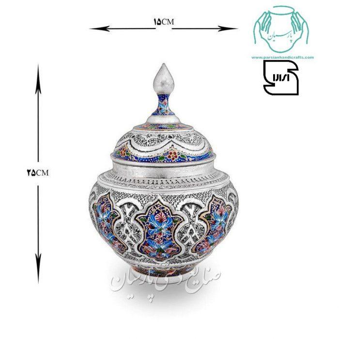 گزخوری مسی تلفیق هنر قلمزنی مینیاتور اصفهان