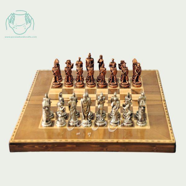 مهره شطرنج پتينه کاری سایز متوسط