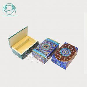 جعبه استخوانی کبریتی طرح اسلیمی