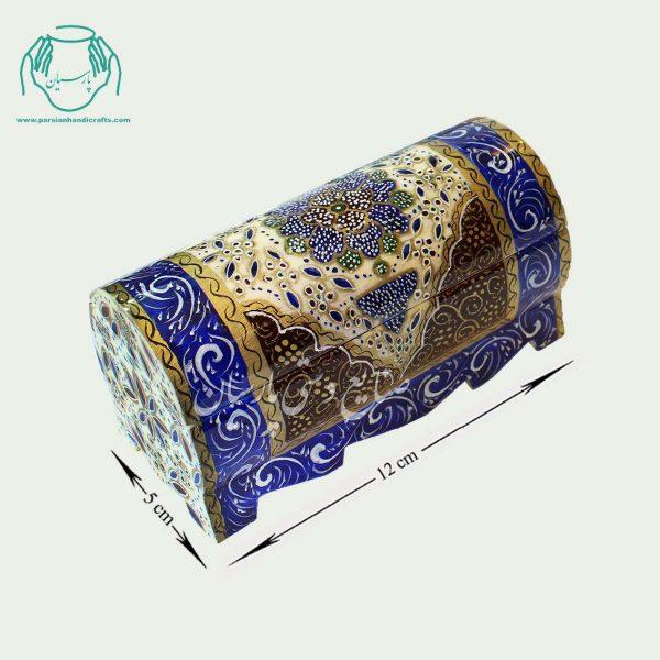 جعبعه استخوانی نقاشی اسلیمی سایز 12