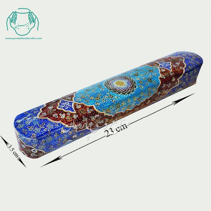 قلمدان استخوانی سایز 23 نقاشی اسلیمی