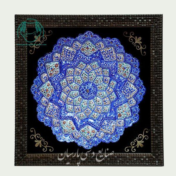 بشقاب مینا کاری اصفهان سایز 30